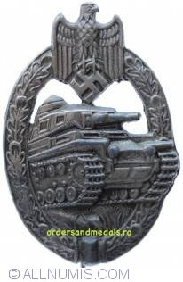WWII German Tank Combat Badge, or Panzer Badge