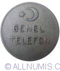Image #1 of Turkey post-telegraph-telephone token