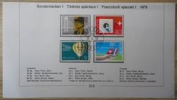 Image #1 of 20 Rappen (Centimes), 40 Rappen (Centimes), 70 Rappen (Centimes), 80 Rappen (Centimes) 1979