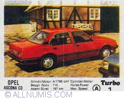 Image #1 of 1 - Opel Ascona CD
