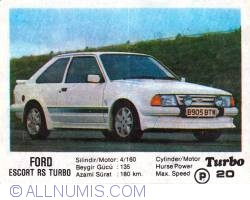 Image #1 of 20 - FORD ESCORT RS TURBO