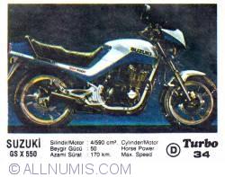 Image #1 of 34 - SUZUKI GS X 550