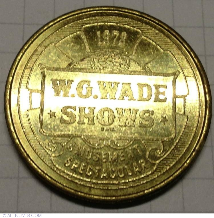 Circus Fans Of America Convention Token Trade Token