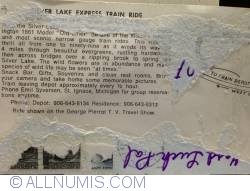 Image #2 of Silver Lake Express train Ride, St. Ignace Mich