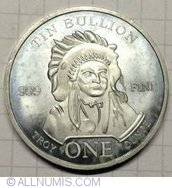 Image #1 of Tin Bullion round