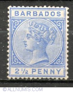 Image #1 of 2 1/2 Penny - Victoria