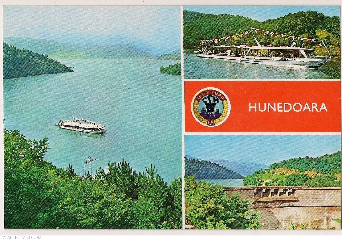 Postcard Cinci Lake Of Hunedoara From Romania ID 19272