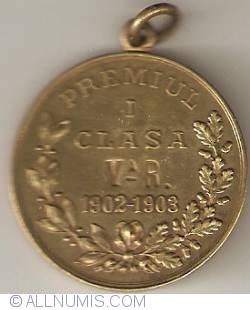 Ministerul Instrucțiunii Publice și al Cultelor - Premiul I (1902-1903)