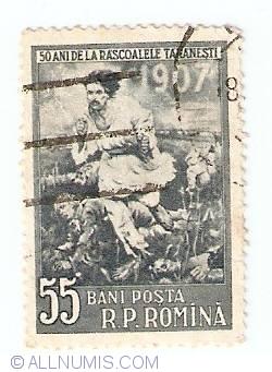 Imaginea #1 a 55 Bani - 1907 - Pictura lui Octavian Bancila