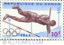 Image #1 of 10 Francs 1964 - Pole vault