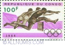 Image #1 of 100 Francs 1964 - Atletism