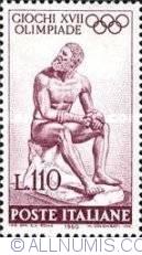 110 Lire 1960 - Statue
