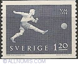 Image #1 of 1 Krona 20 Ore - Soccer Player and Ball