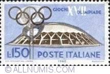 Image #1 of 150 Lire 1960 - Stadium