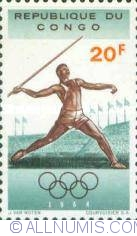Image #1 of 20 Francs 1964 - Javelin throwing
