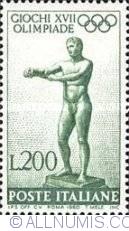 Image #1 of 200 Lire 1960 - Statue