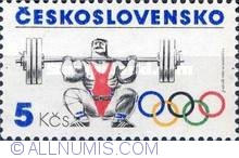 Imaginea #1 a 4 Korun 1984 - Weight lifting