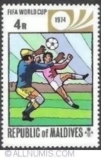 Image #1 of 4 Rufiyaa - 2 Players and ball