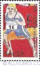 Imaginea #1 a 5,50 Kroner 1996 - Athletics