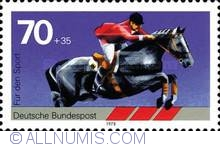 Image #1 of 70 + 35 Pfennig - Show Jumping