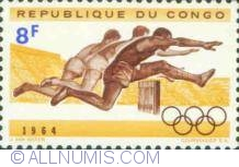 Image #1 of 8 Francs 1964 - Atletism