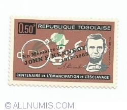 Image #1 of 0.50 Franc - Abolition of slavery centenary