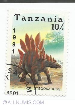Image #1 of 10 shilingi - Stegosaurus