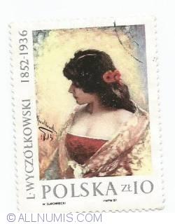 Image #1 of 10 zlotych - Portrait of a Woman by Leon Wyczolkowski