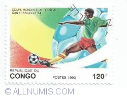 Image #1 of 120 Francs 1993 - FIFA World Cup, San Francisco