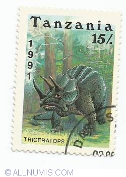 Image #1 of 15 Shilingi - Triceratops