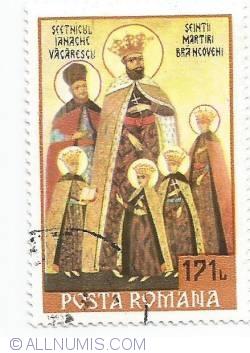 171 lei - Sfintii Martiri Brancoveni