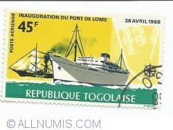 Image #1 of 45 franci - Fulton's steamship and modern steamship