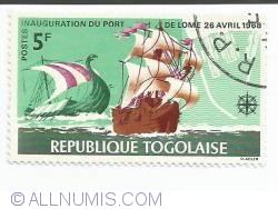 Image #1 of 5 franci - Viking Ship and Portuguese Brigantine