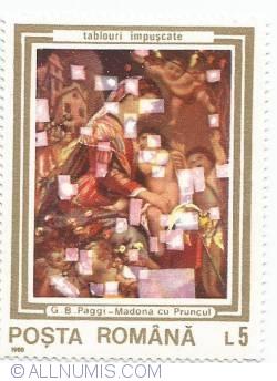 5 lei - G.B.Paggi - Madona cu Pruncul