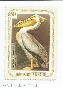 Image #1 of 50 Centimes - White pelican