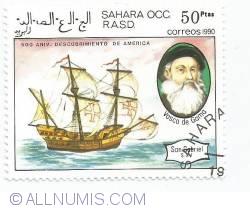 50 ptas - Vasco da Gama