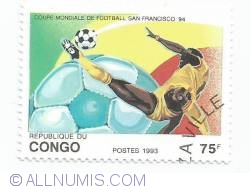 Image #1 of 75 Francs 1993 - FIFA World Cup, San Francisco