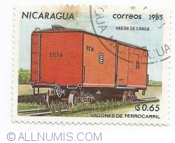 Image #1 of 0,65 Cordoba - Closed freight car