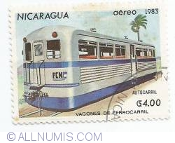 Image #1 of 4 Cordobas - Railbus