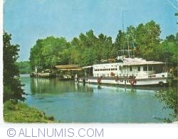 """Danube Delta - The ship """"Muntenia"""" in the Crisan port"""