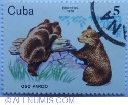 Image #1 of 5 Correos 1979 - Urs Brun (Oso Pardo)