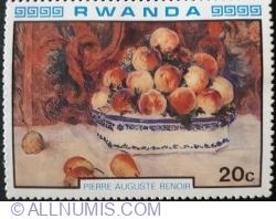 "Image #1 of 20 Santime 1980 - Pierre Auguste Renoir "" Natura moarta"""