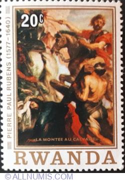 "Image #1 of 20 Santime 1977 - Pierre Paul Rubens ""Drumul spre calvar"""