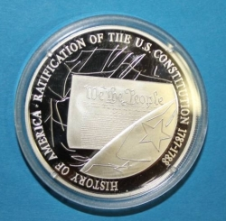 Imaginea #1 a Constitution of the USA Commerative Coin