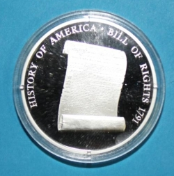 "Imaginea #1 a ""Bill of Rights"" Commerative coin"