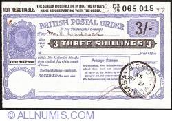 3 Shillings 1953