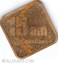 Image #1 of EximBank - 15 ani (2007)