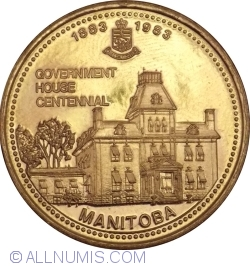 Image #1 of Thompson, Manitoba - Government house centennial 1883-1983