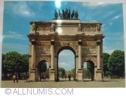 Paris - Arc de Triomphe du Carrousel (1975)