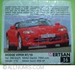 Image #1 of 16 - Dodge Viper RT/10